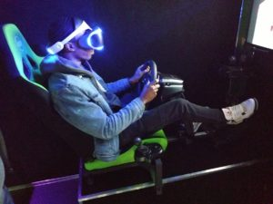 Virtual Reality racing simulator in Peoria Illinois