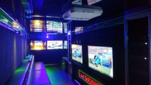 Video game truck party in Peoria Illinois