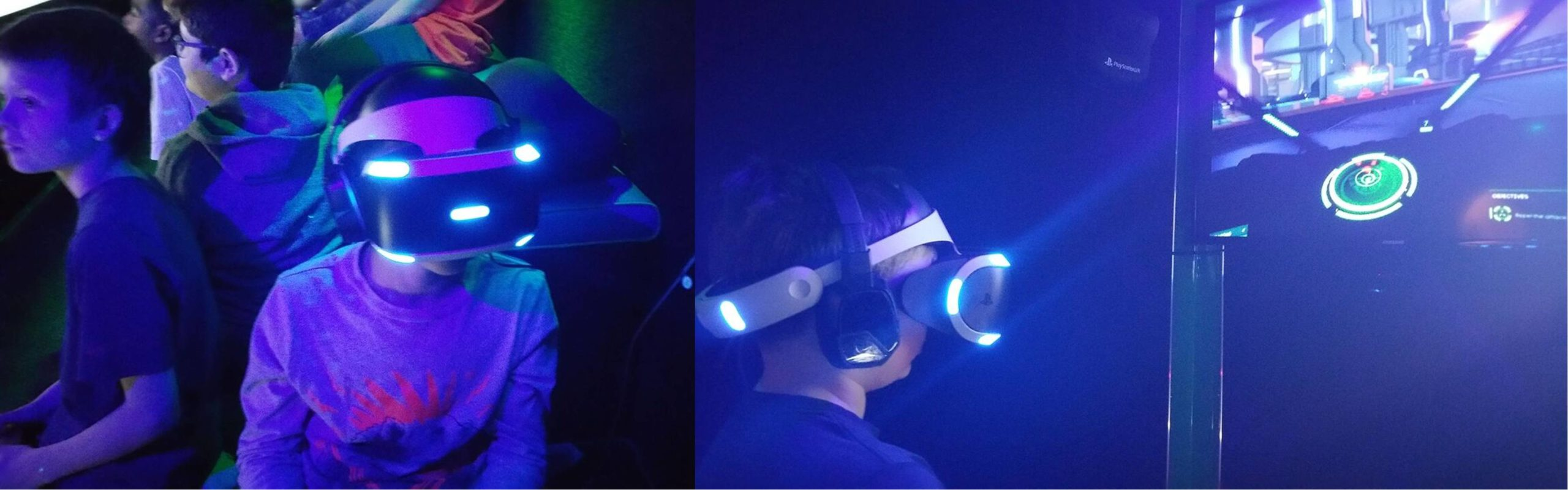 Virtual reality video game party in Peoria, Illinois