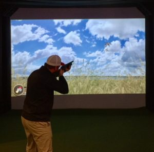 Virtual reality shooting gallery party rental in Peoria IL